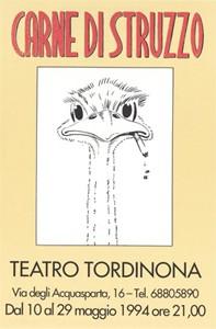 Carne di struzzo (1994) - Locandina